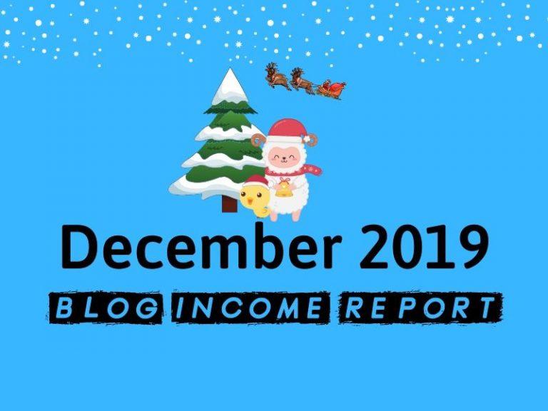 Niche Site Project 4 – December 2019 Update