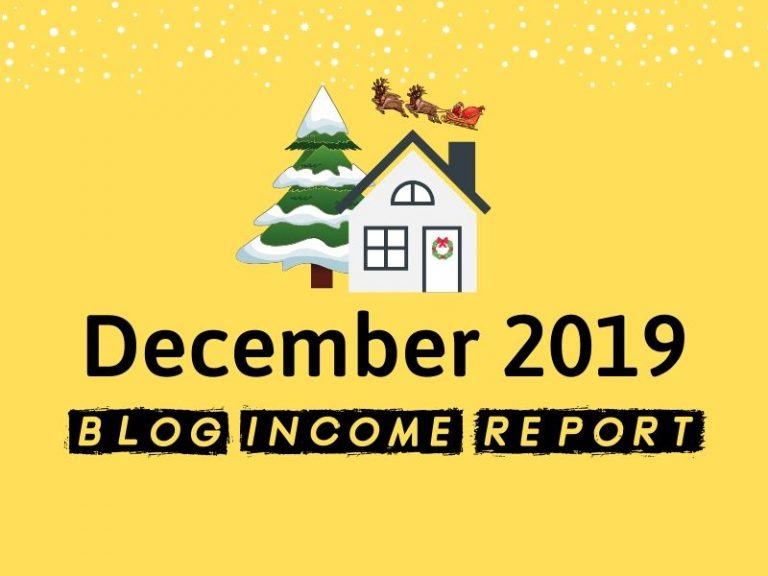 Niche Site Project 3 – December 2019 Update