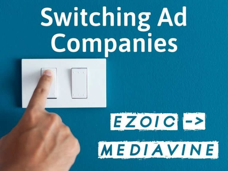 Migrating A Site from Ezoic to Mediavine