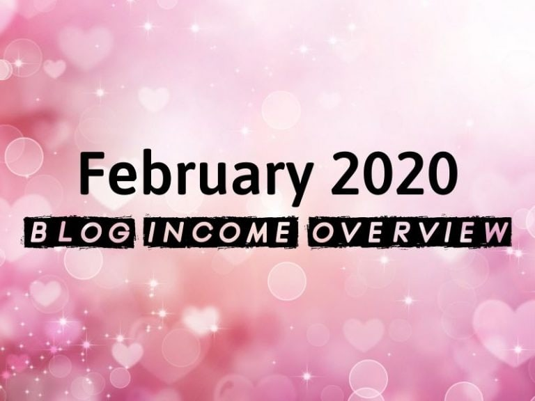 February 2020 Blog Income Report – $1,817.95 Earned from Multiple Sites