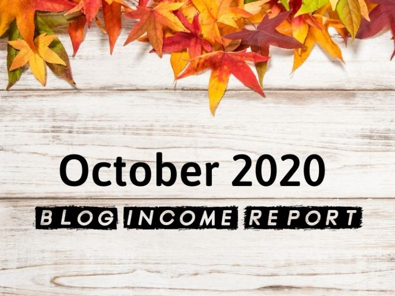 October Blog Income Report – $5,902.13 Earned