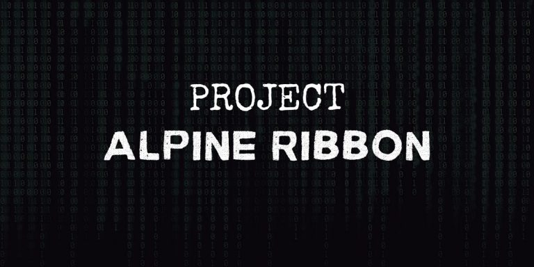 Project Alpine Ribbon